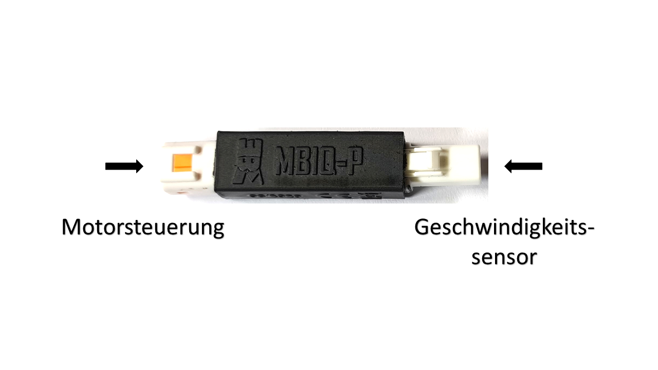 MBIQ-P Plug-In Lösung für Yamaha / AEG / Giant
